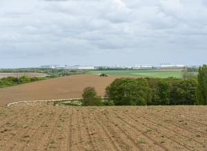 Site de Louvres retrouve sa vocation agricole