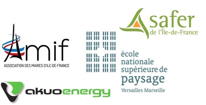 logos des différents partenaires d'ECT dans la mise en oeuvre des aménagements