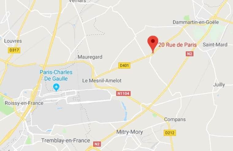 ECT plan 20 rue de Paris Villeneuve sous Dammartin