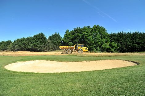 Travaux ECT golf Saint-Pierre-du-Perray
