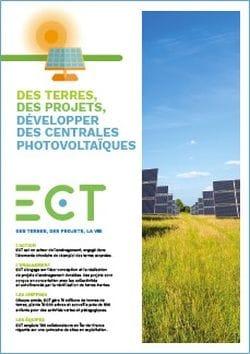 Solution d'aménagement ; centrales photovoltaiques