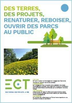 Solution d'aménagement : renaturation