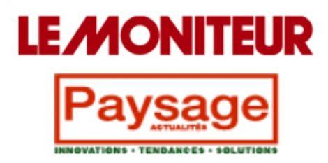 Logo presse : Le Moniteur Paysages Actualités