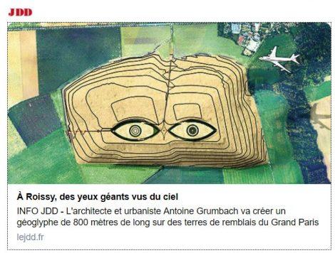 Terres de remblais et géoglyphe A. Grumbach - ECT - JDD