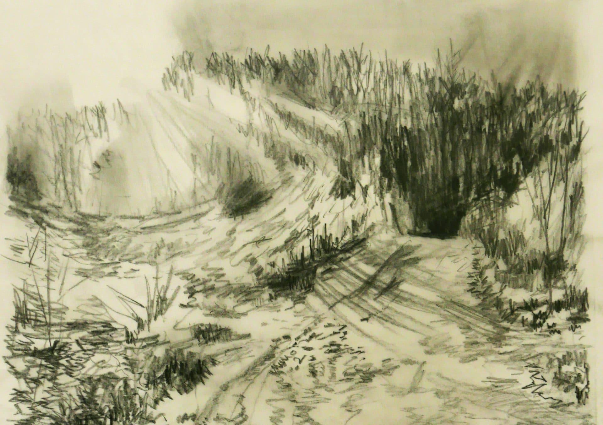 la colline d'Elancourt © Marie-Laure Garnier