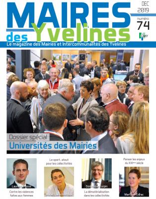 Le magazine des Mairies des Yvelines et Intercommunalités - Décembre 2019