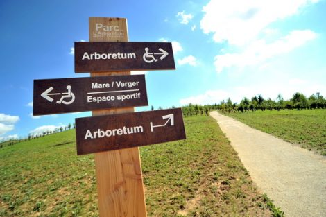 Parc de l'Arboretum à Moissy-Cramayel